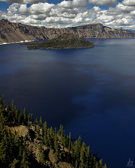 Living in a blue dream (Jersey JJ) Tags: livinginabluedream crater lake oregon deep blue mother nature amazing beautiful landscape prehistoric jpeg j2