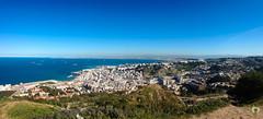 Panorama d'Alger depuis Village Clste (Ath Salem) Tags: algrie alger panorama vue baie montagne verdure   village celeste bouzarah   kittani  mer mediterrane sahel algrois magnifique rare