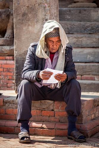 Uliczki Bhaktapur