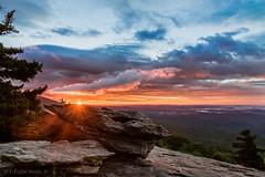 Mountain sunrise, Beacon Heights - Blue Ridge Parkway (CofC03) Tags: beaconheights mountains clouds sunrise blueridgeparkway linville northcarolina unitedstates us