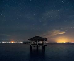 Manjuyod Sandbar at night (EkimMaacap) Tags: ekim stars landscape seascape whitesand sandbar night astrophotography negros bais manjuyod sky sea nightphotography fujifilmxe2 instagram waterworld