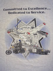 CHP T-Shirt (AirTrails) Tags: chp californiahighwaypatrol caprice kawasaki motorcycle helicopter 9c1 chevrolet police