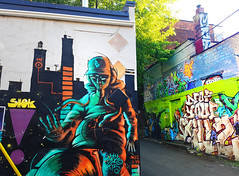 Montreal Graffitis (Coastal Elite) Tags: graffiti montreal streetart street art urbain urban ruelle ruelles plateau wall alleys alley mur alleyway alleyways colors colours color montréal colour colorful colourful paint spray walls murs painting plateaumontroyal write writing writers writer artist throwup pokemon chimney chimneys shok cheminée cheminées pikachu mural murale dj scratching scratch record turntable tabletournante baseballhat cap hoodie