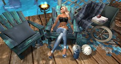 end of summer blues (nicandralaval1) Tags: dafnis prtty blueberry shey serenitystyle daddesign glamorous sin tattoo shoes secondlife maitreya firestormviewer freebies