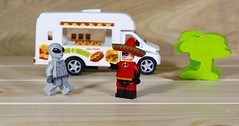 Mr Incredible has gone undercover to investigate a local alien organization (Busted.Knuckles) Tags: home toys lego minifigures alien mrincredible pentaxk3 camerautility5