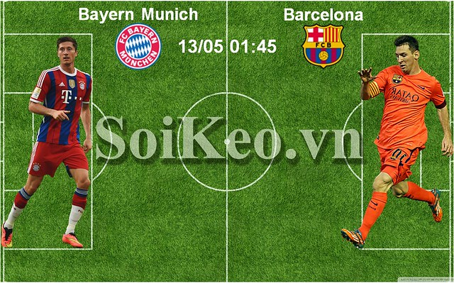 Bayern Munich vs Barcelona (3)