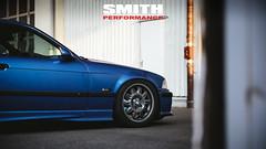 Tims BMW E36 M3 (patrickbraun.net) Tags: auto blue detail car performance smith automotive bmw blau m3 rims e36 felge fujifilmxt1 fujinonxf56mmf12r