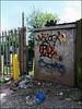 10 Foot (Alex Ellison) Tags: urban graffiti boobs tag graff eastlondon forestgate 10foot