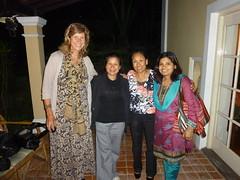 Lisa, Anu, Phurba and Salina - 2010