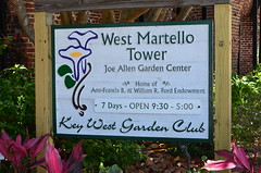 Key West - West Martello Tower (vacationer1901) Tags: florida keywest westmartellotower keywestgardenclub