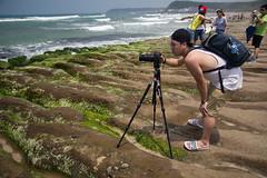 (胚卓's photography) Tags: nd 海岸 風景 cpl 東北角 haida 老梅 浪花 海大 減光鏡 老梅綠石槽