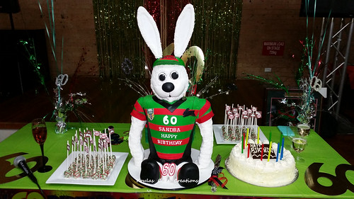 Rabbitohs Cake Designs
