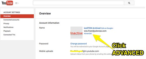 Advanced YouTube channel settings by Wesley Fryer, on Flickr