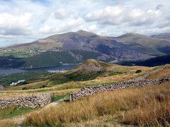 """Looking across Llyn Padarn to Elidir Fawr from the foot of Moel Eilio • <a style=""""font-size:0.8em;"""" href=""""http://www.flickr.com/photos/41849531@N04/17998759378/"""" target=""""_blank"""">View on Flickr</a>"""