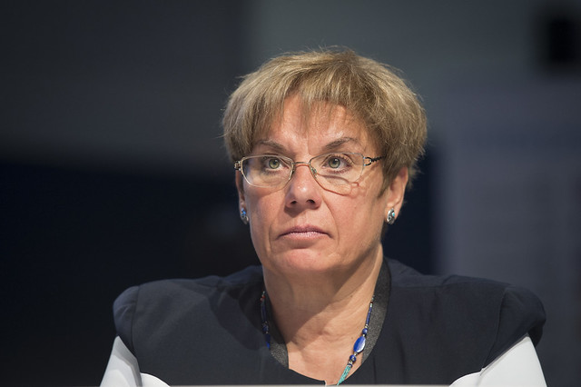 Eva Molnar in attendance at the Open Ministerial Session