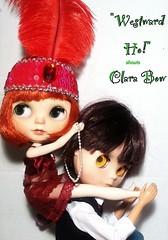 Blythe-a-Day May#27 Wild, Wild West: Movie Star Clara Bow