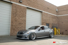 "WEDS Maverick 709M - Infiniti G37 • <a style=""font-size:0.8em;"" href=""http://www.flickr.com/photos/64399356@N08/18125692048/"" target=""_blank"">View on Flickr</a>"
