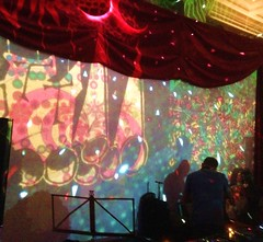 Schatzalp 2015 / Party Dooblewood (micky the pixel) Tags: party music hotel schweiz switzerland illumination davos techno rave psychedelic lightshow zauberberg schatzalp vannutt abundzu dooblewood