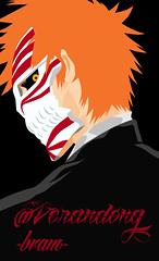 #ichigo #kurosaki #bleach (bram_lhd) Tags: anime photoshop manga bleach vector hollow ichigo kurosaki bankai