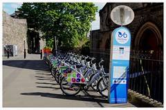 Nextbike. (Paris-Roubaix) Tags: museum garden gallery stirling bikes rental smith stirlingshire the nextbike