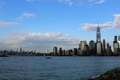 IMG_0448 (thehachland) Tags: newyorkcity building canon newjersey memorial state worldtradecenter empire statueofliberty christophercolumbus libertystatepark