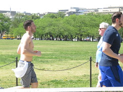 IMG_0658 (FOTOSinDC) Tags: shirtless man men muscles muscle candid handsome running sweaty sweat shorts jogging runner tee jogger