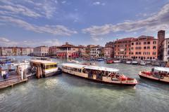 Canal Grande in Venice (ogawa san) Tags: venice italy art museum boat canal venezia  cadoro   galleriafranchetti