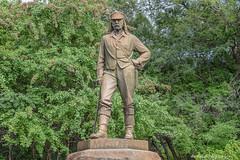 David Livingstone (WeeMac1) Tags: david water statue river waterfalls zimbabwe victoriafalls zambezi livingstone davidlivingstone zambeziriver