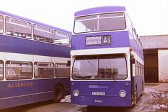 A.1. SERVICE, BROWN OJD162R (bobbyblack51) Tags: park brown london transport royal service a1 1995 leyland fleetline dreghorn alltypesoftransport dms2162 ojd162r