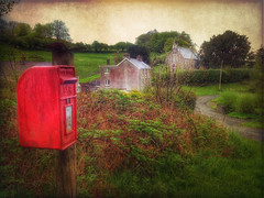 Wales in May (Nick Kenrick.) Tags: wales ceredigion lampeter redpostbox silian magicunicornverybest