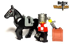 Ready to Ride (BrickWarriors - Ryan) Tags: horse castle soldier spurs lego helmet medieval fantasy armor weapon sword custom crusader minifigure brickwarriors