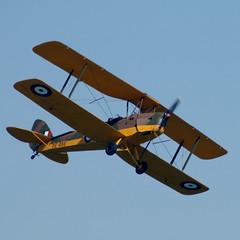Biplano Tiger Moth (alex.gan) Tags: volo cielo giorno volare aereoplano velivolo allaperto airshowloano2016