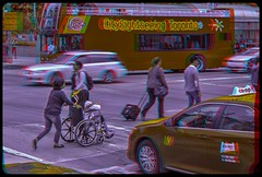 University Avenue Traffic 3-D ::: HDR/Raw Anaglyph Stereoscopy (Stereotron) Tags: street urban toronto ontario canada america radio canon eos stereoscopic stereophoto stereophotography 3d downtown raw traffic control cab taxi north citylife streetphotography kitlens twin anaglyph stereo pedestrians stereoview to remote spatial 1855mm hdr province redgreen tdot 3dglasses hdri transmitter stereoscopy synch anaglyphic optimized in threedimensional hogtown stereo3d thequeencity cr2 stereophotograph anabuilder thebigsmoke synchron redcyan 3rddimension 3dimage tonemapping 3dphoto 550d torontonian stereophotomaker 3dstereo 3dpicture anaglyph3d yongnuo stereotron