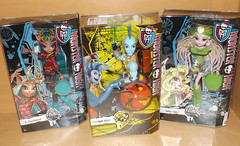 New dolls - Monster High Brand Boo students and Finnegan Wake (meike__1995) Tags: claro new students monster high doll wake dolls boo brand mattel finnegan isi 2016 batsy dawndancer