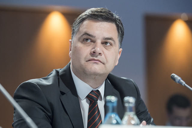 Miodrag Poledica at the Closed Ministerial Session
