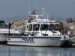 Halton Regional Police Marine 1 (car show buff1) Tags: rescue canada ford mobile downtown explorer tahoe police utility victoria chevy dodge service crown law enforcement squad incident taurus region command regional charger oakville interceptor opp caprice on ppv halton