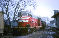 CB&Q GP7 242 (Chuck Zeiler) Tags: railroad burlington train locomotive naperville 242 chz emd cbq gp7