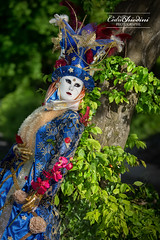 Yvoire - #16 (cedric.chiodini) Tags: carnaval carnavaldyvoire yvoire masque costume flash feuilles cobra canon5dmkiii canon