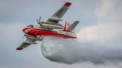 Grumman S-2 Tracker (Michel Images) Tags: airplanes airshow lafertalais canoneos7d grummans2tracker tamronsp150600mmf563