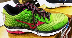 . (SA_Steve) Tags: color colour colors retail store colorful colours forsale bright vivid sneakers footwear sneaker colourful mizuno