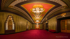 Los Angeles Pantages Lobby (Christian Dionne) Tags: california panorama usa losangeles nikon theater theatre lobby hollywood nikkor hdr d800 lightroom pantages nodalninja 1424mm