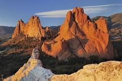 *Glowing Garden of the Gods* (albert.wirtz) Tags: usa unitedstates america amerika albertwirtz nikon d700 colorado coloradosprings gardenofgods statepark sonnenaufgang sunrise glowing glhen morningglow rocks felsen