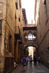 Barrio Gotico 1 (Kilmar2010) Tags: barcelona architecture arquitectura bcn catalonia gaudi catalua batllo gotico