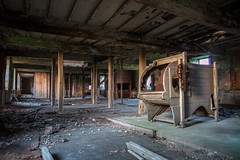 Abandoned & Derelict Mill (deltic17) Tags: urban building history mill abandoned industrial derelict dereliction urbanexploring