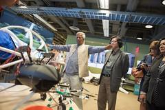 Muhammad Yunus Visit (77 of 92) (calit2) Tags: june demo san diego visit speaker commencement visualization muhammad ucsd yunus calit2 2016 ucsandiego muhammadyunus qualcomminstitute