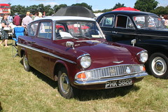 FORD ANGLIA SUPER 1966 PHK582D (WESTROWMAN) Tags: fordcar 105e fordanglia weeting2016countryshow