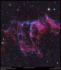 Within The Eastern Veil (Terry Hancock www.downunderobservatory.com) Tags: qhy16200 sky space universe cosmos astrophotography astroimaging veil nebula