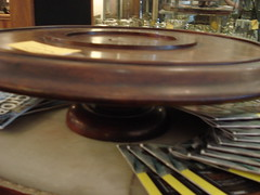 """19TH CENTURY MAHOGANY LAZY SUSAN. • <a style=""""font-size:0.8em;"""" href=""""http://www.flickr.com/photos/51721355@N02/28532486982/"""" target=""""_blank"""">View on Flickr</a>"""