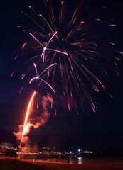 Fireworks 4 20160727 (Steve TB) Tags: fireworks broadstairs vikingbay jetty bleak house sea beach canon eos5dmarkiii