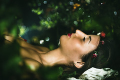 IMG_7766 (marcoemme182) Tags: girl nature portrait sleeping green bokeh